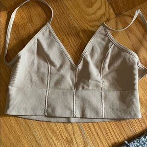 Bralette XS/S tan FREE PEOPLE